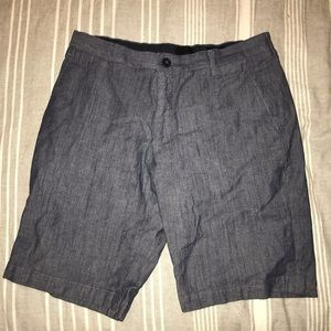 H and M slim fit blue shorts